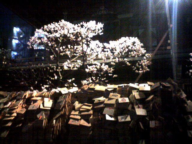 湯島の夜の梅・その2