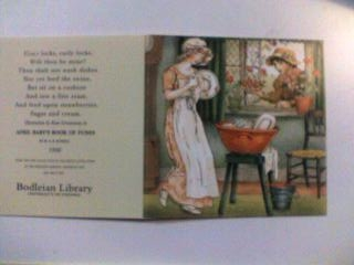 """グリーナウェイのカード1 """"APRIL BABY'S BOOK OF TUNES"""""""