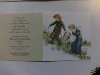 """グリーナウェイのカード2 """"Jack and Jill"""