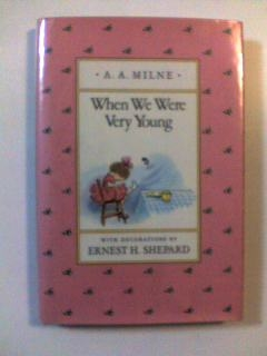 "A.A.MILNE ""When We Were Very Young"""